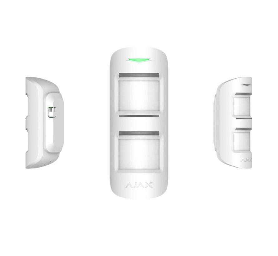 MotionProtect Outdoor   Wit   Draadloze passief infrarood buiten detector