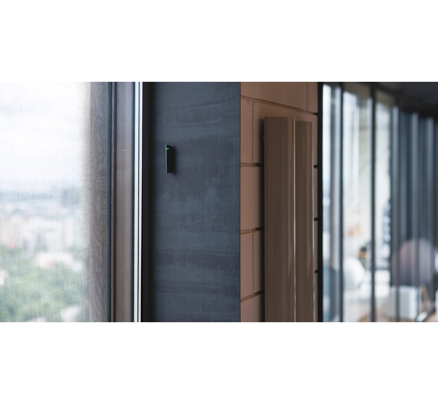 GlassProtect | Zwart | Draadloze akoestische glasbreukmelder