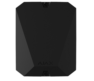 Ajax MultiTransmitter | Integratie module | Zwart | Met 18 bedrade zones