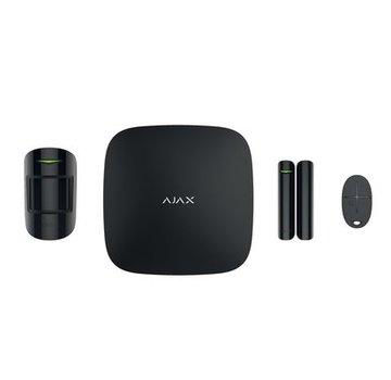 Ajax Hubkit   Zwart   GSM/LAN hub   PIR   Deurcontact   Afstandsbediening