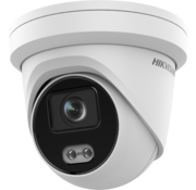 Hikvision DS-2CD2347G2-LU ColorVu 2.0 | 4MP | 4MM | ingebouwde microfoon | 130dB | WDR | Turret Dome