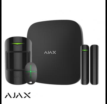 Ajax Ajax Hub+ kit | zwart | 2x GSM/LAN hub | PIR | deurcontact | afstandsbediening