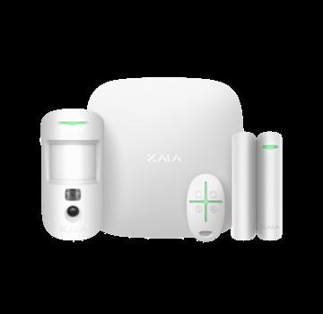 Ajax Ajax StarterKit Cam Plus wit | Hub 2 Plus | MotionCam | DoorProtect | SpaceControl