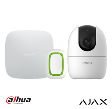 Ajax Zorgkit - AJAX Hub + AJAX Button + Dahua Ranger 2