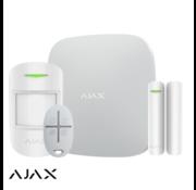 Ajax Ajax Hub+kit | wit | 2x GSM/LAN hub | PIR | deurcontact | afstandsbediening