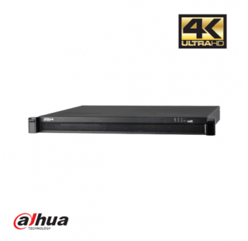 Dahua Dahua 24 kanaals 1U 24 x PoE 4K&H.265 Pro NVR incl 2 TB HDD
