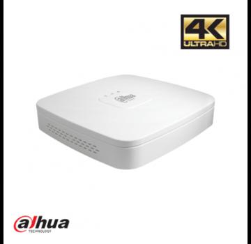 Dahua Dahua 4 kanaals NVR met PoE incl. 1TB