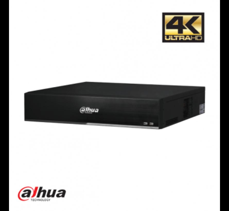 Dahua 32 kanaals 2U AI Netwerk Video Recorder incl 2TB HDD