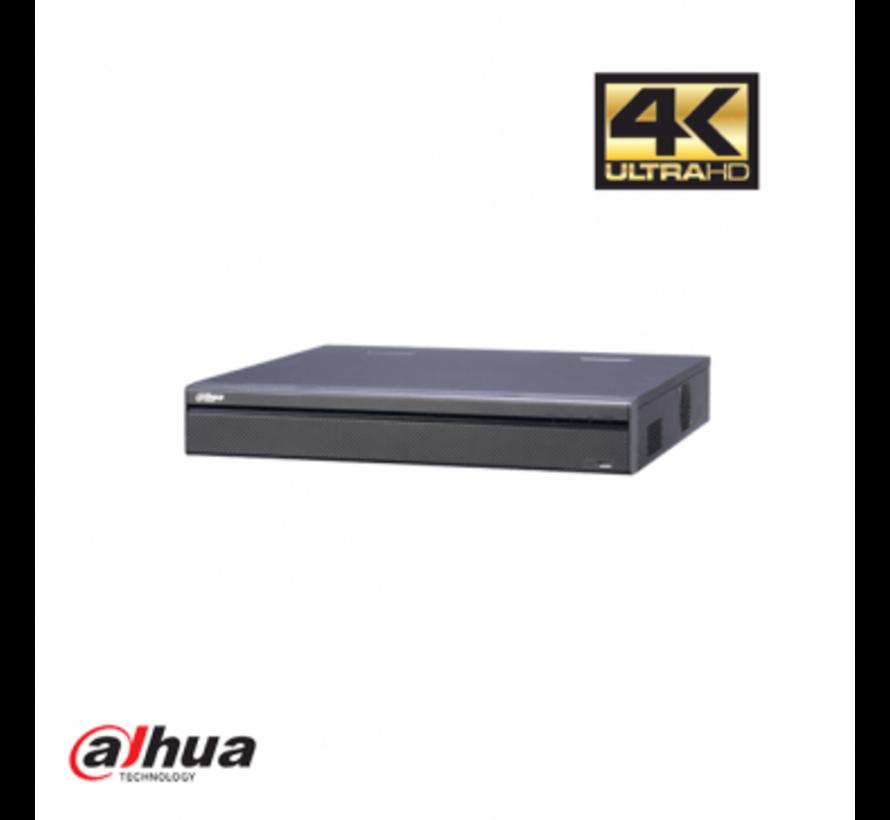 Dahua 32 kanaals 4K NVR incl 2 TB HDD