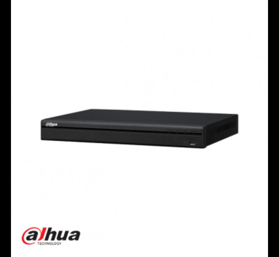 Dahua 4 kanaals 1U 4PoE 4K, H.265 Lite NVR incl 1 TB HDD