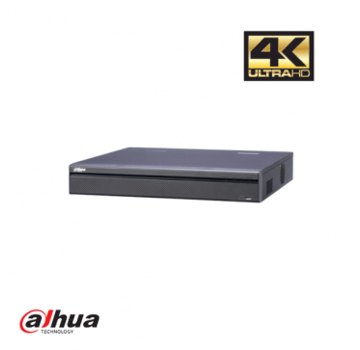 Dahua Dahua 16 kanaals 4K NVR met 16 PoE poorten incl 2 TB HDD