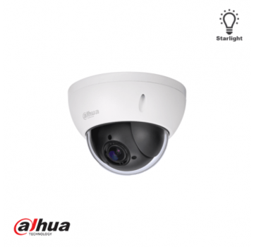 Dahua Dahua 2 Mp Full HD Starlight Netwerk Mini PTZ Dome Camera
