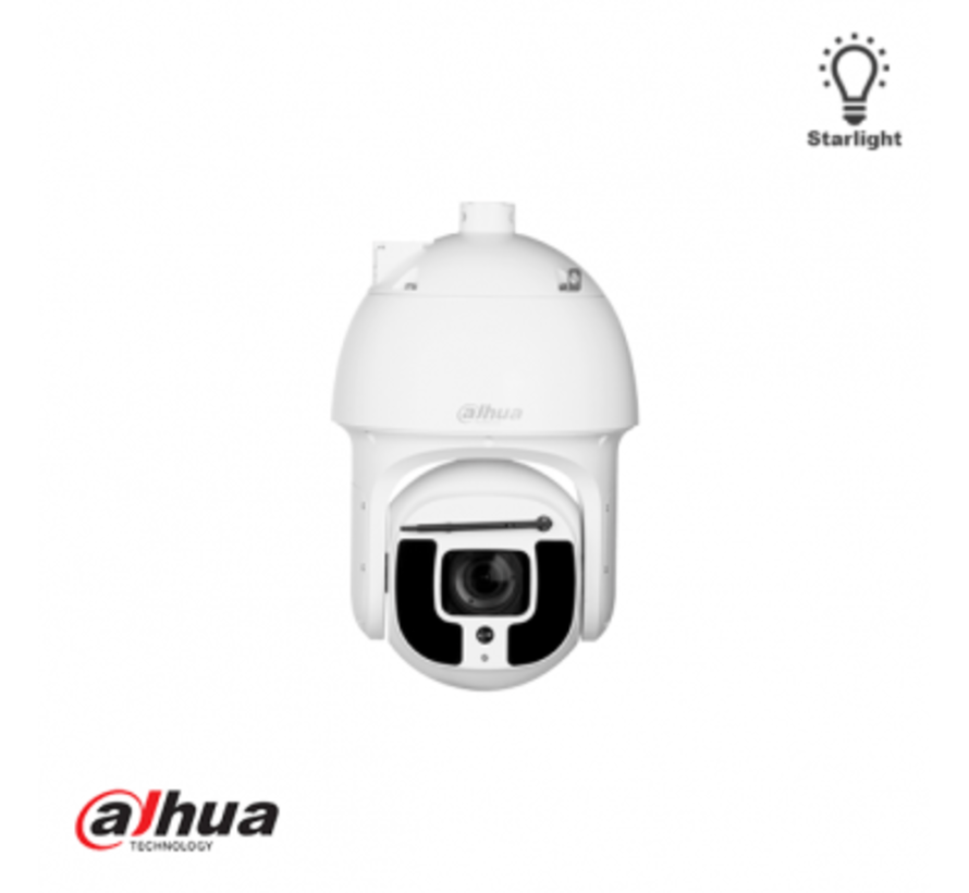 Dahua 4MP 40x Starlight IR PTZ AI Netwerk Camera