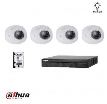 Dahua Dahua IP Full HD Starlight kit