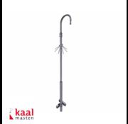 Dahua Kaal kantelbare mast 4m | incl. dome camera uithouder