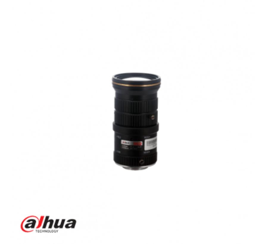 """Dahua 5-50 mm   1/2.7""""   6 megapixel lens"""
