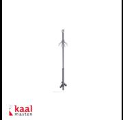 Dahua Kaal mast 3m   incl. demontabel camera opzetstuk