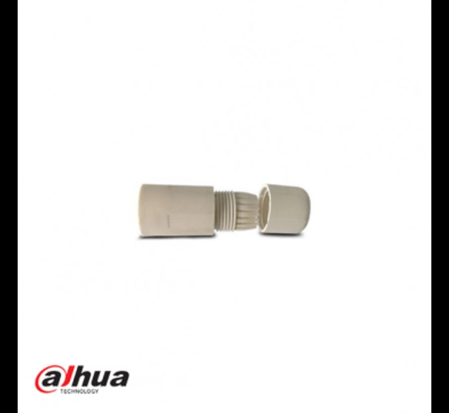 Dahua waterdichte connector kleur wit