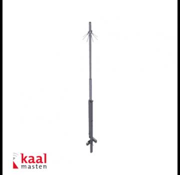 Dahua Kaal kantelbare mast 6m | zonder camera opzetstuk | incl. inslagdop