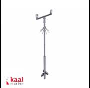 Dahua Kaal mast 6m | incl. tweevoudig camera uithouder en cameraopzetstuk