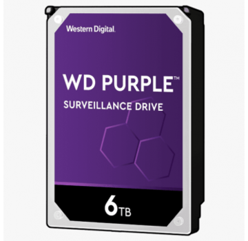 Dahua Western Digital 6 TB Purple HDD