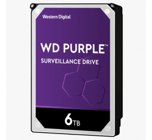 Dahua Western Digital 6 TB Purple HDD