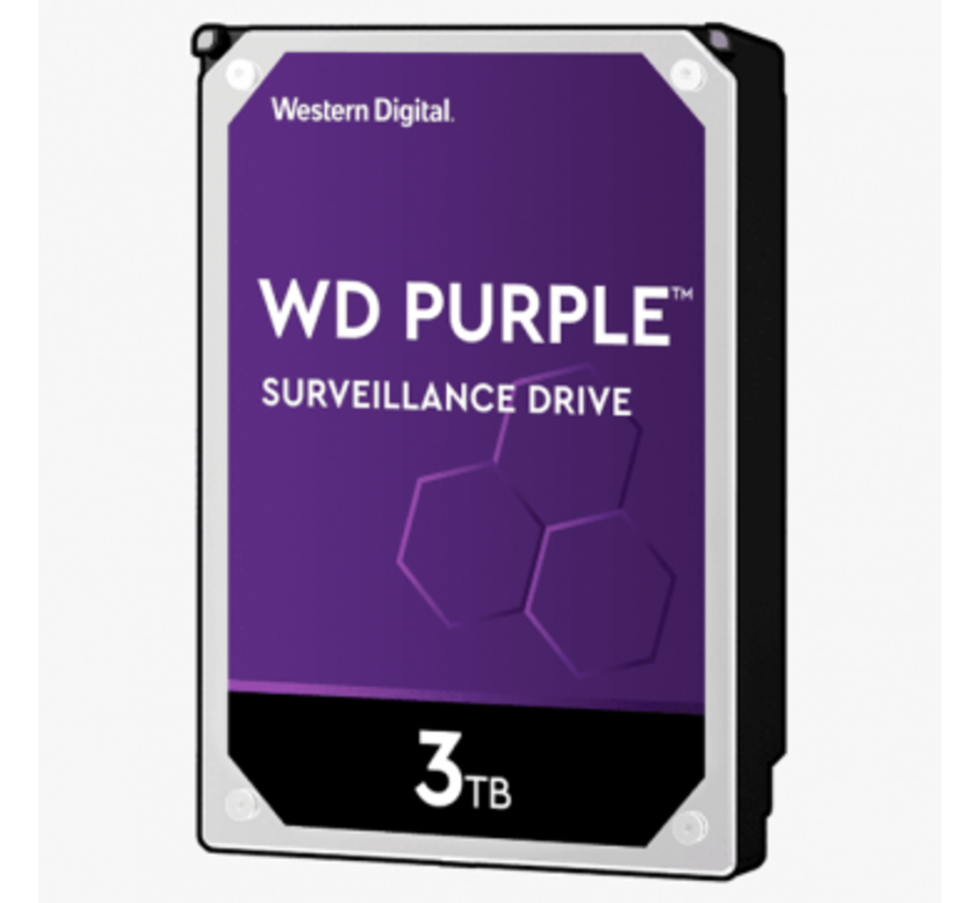 Western Digital 3 TB Purple HDD