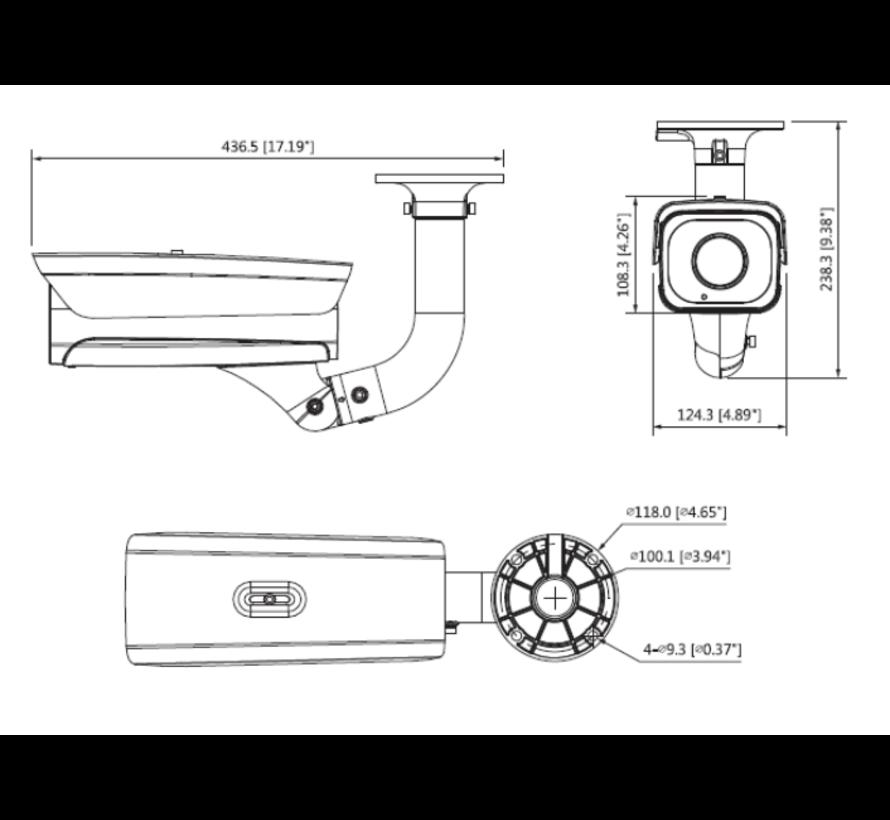 Dahua 2MP | Starlight Bullet | Gezichtsherkenning IP camera