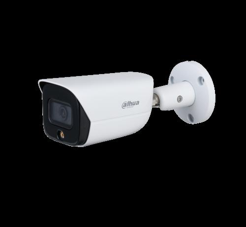 Dahua Dahua 4MP | Lite AI | Full-color | Warm wit licht LED | Bullet netwerk camera | 2.8mm