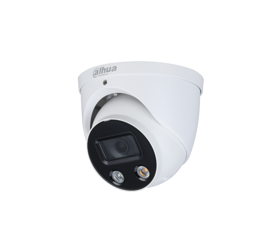 Dahua 4MP | TiOC | Full-color | Active Deterrence | Fixed-focal | Eyeball | WizSense | Netwerk camera | 2.8mm