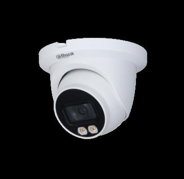 Dahua Dahua 4MP | Lite AI | Full-color | Warm wit licht LED | Eyeball | Netwerk camera | 2.8mm