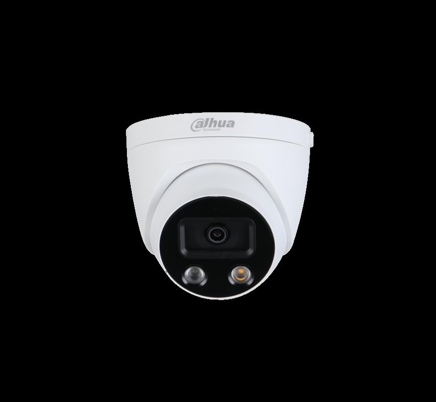 Dahua 5MP | WDR | IR Eyeball | AI en Active Deterrence | Netwerk camera | 2.8mm