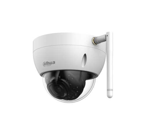 Dahua Dahua 4MP | HD | WiFi | Indoor & Outdoor | Dome | Netwerk camera | 2.8mm