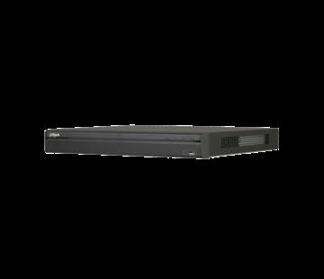 Dahua Dahua 32 kanaals 1U | 16 x PoE | 4K | H.265 | Pro Netwerk Video Recorder | Incl. 2TB HDD