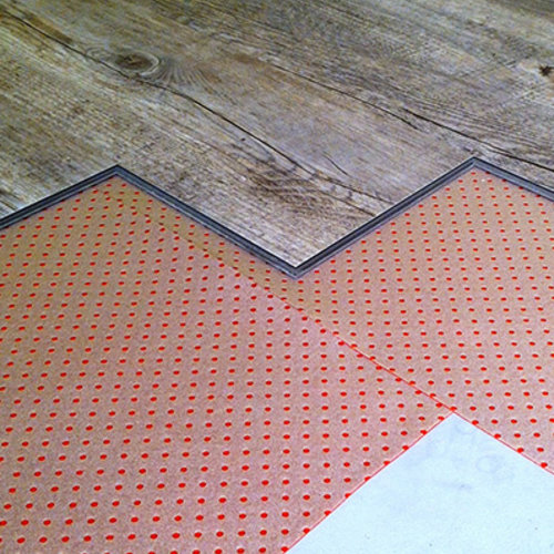 Klikvloeren Online Ondervloer - Red Floor