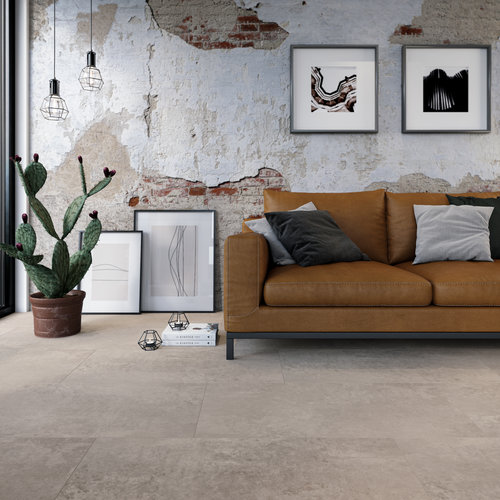 VIVA Floors Klik PVC Tegel 1750 Painted Bevel en Special Embossed