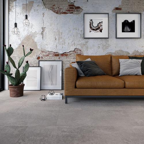 VIVA Floors Klik PVC Tegel 1640 Painted Bevel en Special Embossed