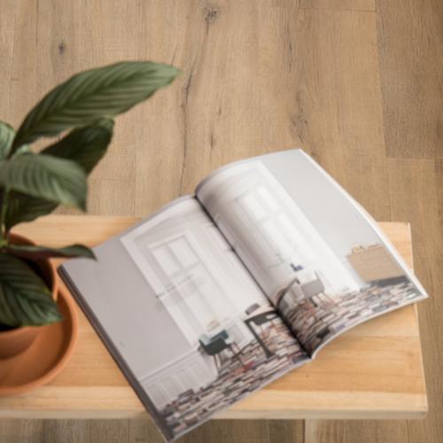 VIVA Floors Eiken 6850 Wood Touch Klik PVC stroken