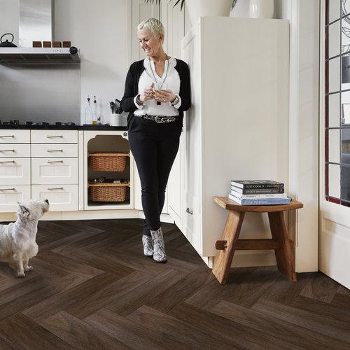 VIVA Floors Eiken 7860 Wood Touch Klik PVC stroken