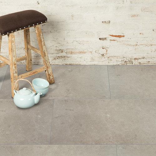 VIVA Floors Klik PVC Tegel 1850 Painted Bevel en Special Embossed Klik PVC