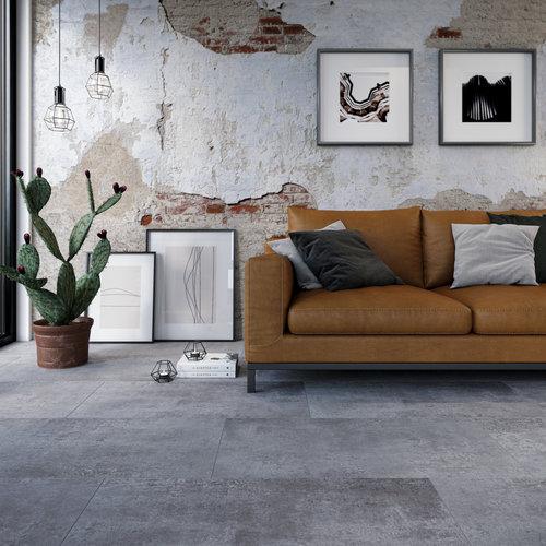 VIVA Floors Plak PVC Tegel 1710 Painted Bevel en Special Embossed - Copy