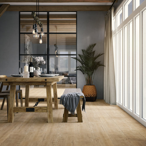 VIVA Floors Naaldhout 4203 Deep Embossed Plak PVC Stroken