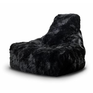 Sheepskin 'Fur' B-Bag Mighty-b - BLACK -