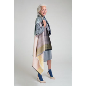 Karigar Cape in different pastel colours