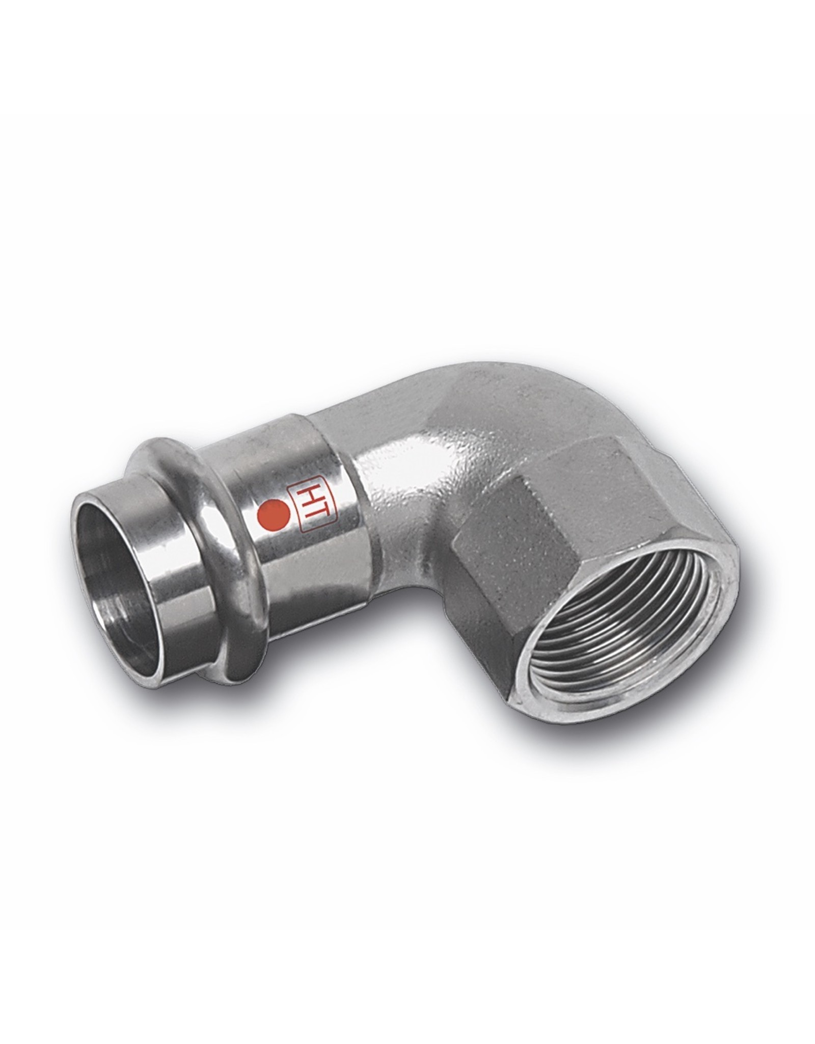 Nirotherm Industrie   knie 90°, 1M + binnendraad