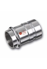 Nirotherm Industrie   verloopnippel met groef 1M