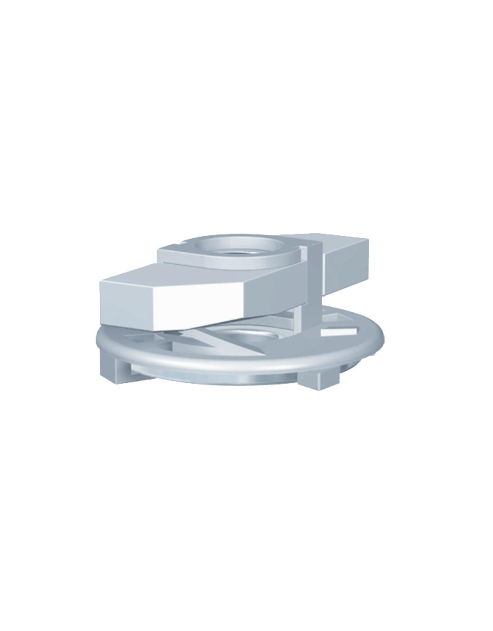 Bevestigingsmaterialen schuifmoer RVS / STAAL