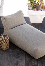 ROOLF LIVING DOTTY  LONG CHAIR - ANTRACIET