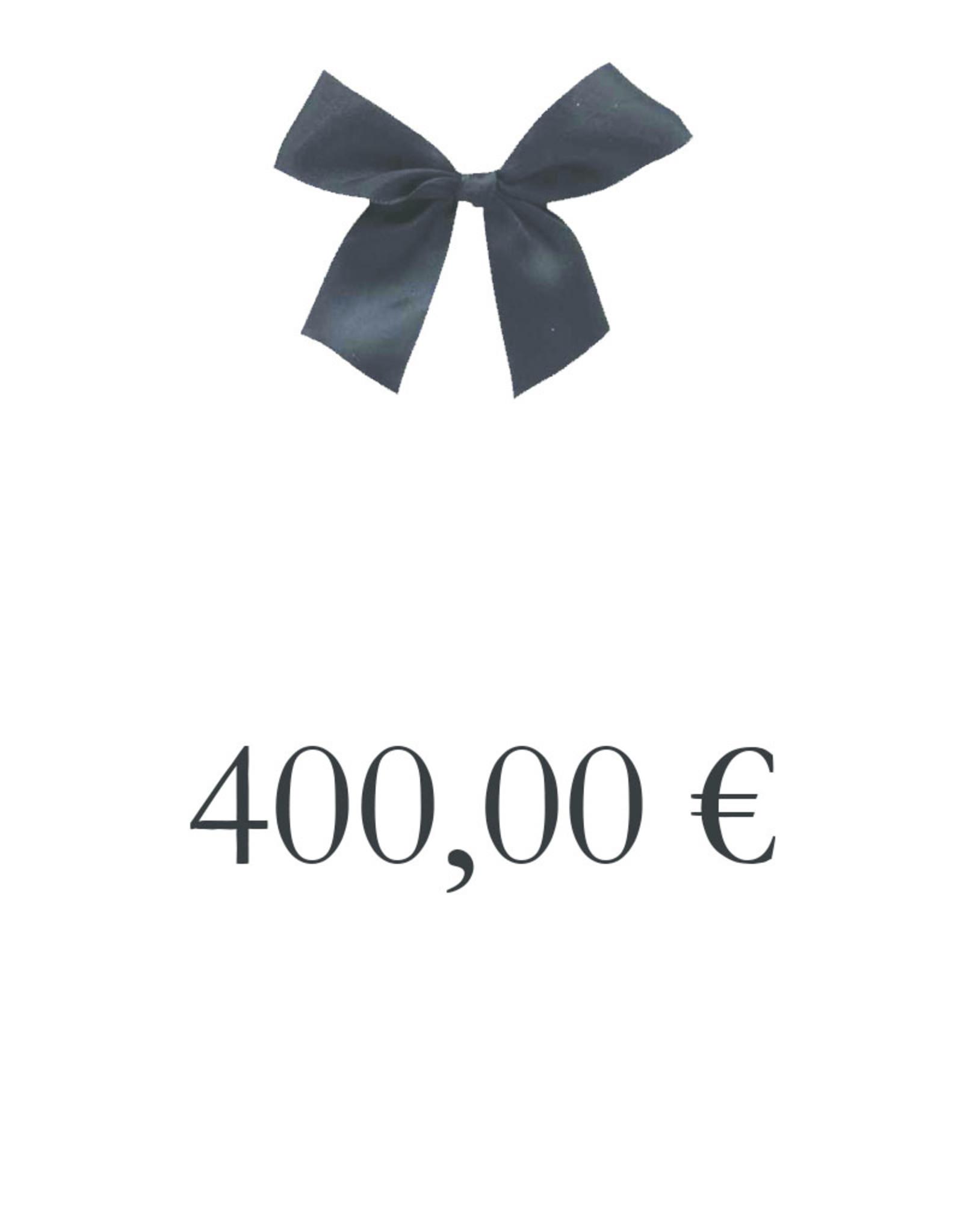 CADEAUBON 400 €