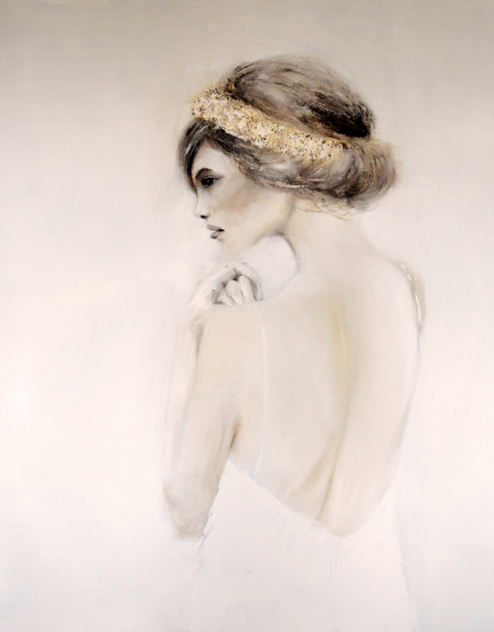 ISABELLE BOSSUYT PAINTINGS - SOFT 150X150CM